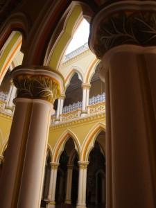 Pillars and arches, Bangalore Palace