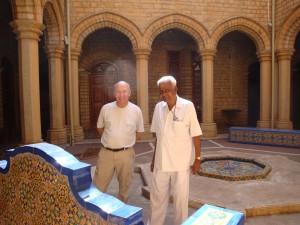 Toby and Babu, Bangalore Palace