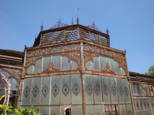 Glasshouse, Bangalore Palace (rather decrepit)