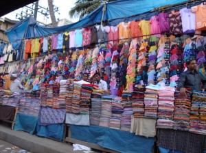 Colourful Market Stall, Commercial Street