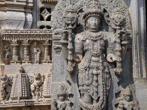 Statue of Vishnu, Somnathpur temple