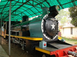 Narrow-guage locomotive, Mysore Railway Museum