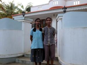 Two friendly girls