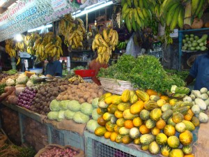 Fruit and veg, Munnar market