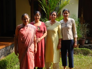 The women in Anil's family
