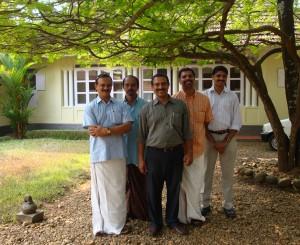 The men in Anil's family