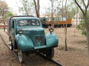 Austin van railcar, Mysore Railway Mueum