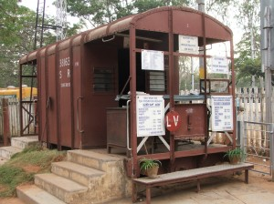 Ticket office and shop, Mysore Railway Museum