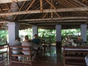 Dining area at Palakkad