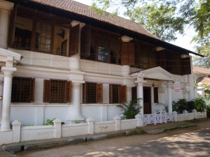 An attractive old building in Cochin