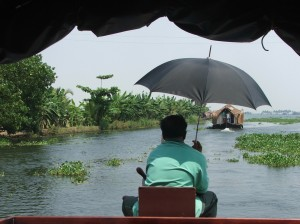 In the backwaters - getting hotter!