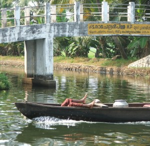 Life on the Kerala backwaters