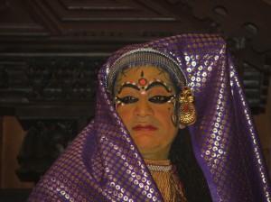 Kathakali: Goodie`s wife (or Les Dawson?)