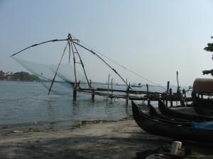 Chinese fishing-nets, Cochin